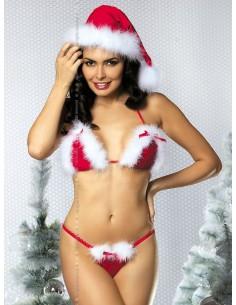Bikini sexy ayudante de Santa Claus