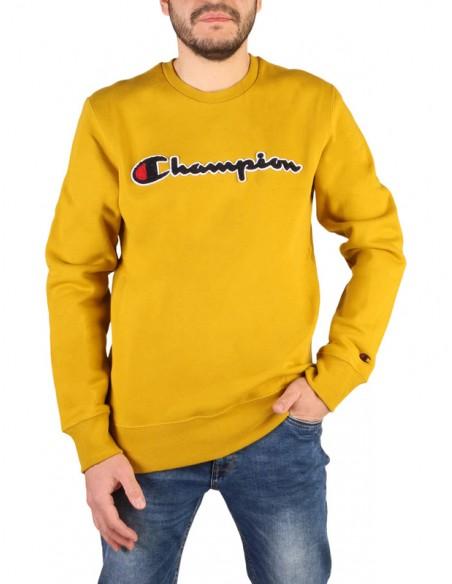Sudadera Champion para hombre mostaza