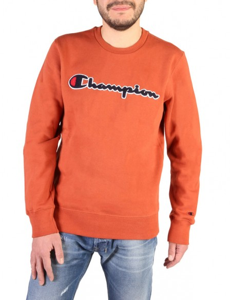 Sudadera Champion para hombre naranja