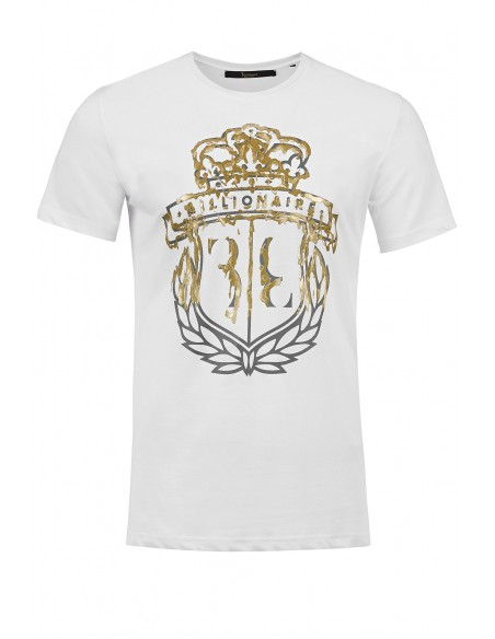 Camiseta para hombre BILLIONAIRE blanca
