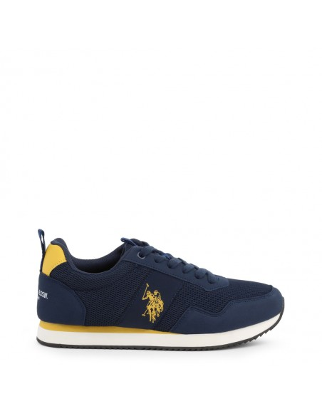 Sneakers U.S. Polo Nobil - blue yellow