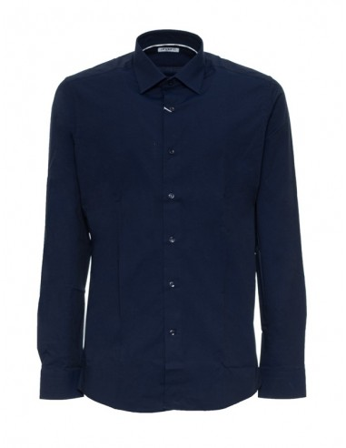 Camisa Ungaro para hombre slim fit - blu notte